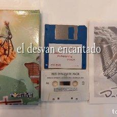 Videojogos e Consolas: RED DYNAMITE PACK. 5 EXPLOSIVOS JUEGOS. ANTIGUO JUEGO MSX. Lote 294013538