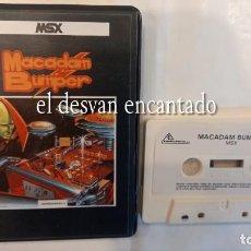 Videojuegos y Consolas: MACADAM BUMPER. ANTIGUO JUEGO MSX. Lote 294017248
