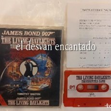 Videojogos e Consolas: 007 JAMES BOND. THE LIVING DAYLIGHTS. ANTIGUO JUEGO MSX. Lote 294017978