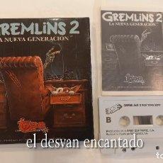Videojogos e Consolas: GREMLINS 2. LA NUEVA GENERACION. ANTIGUO JUEGO MSX. Lote 294440933