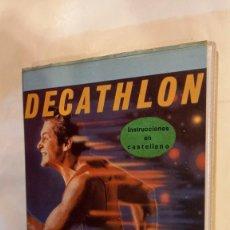 Videojuegos y Consolas: DECATHLON. ANTIGUO JUEGO CASSETTE MSX. Lote 294942178