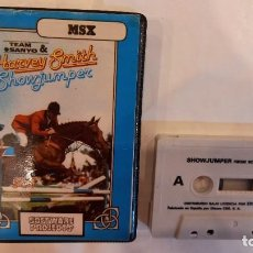 Videojuegos y Consolas: HARVEY SMITH SHOW JUMPER ANTIGUO JUEGO CASSETTE MSX. Lote 294942698