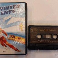 Videojuegos y Consolas: WINTER EVENTS ANTIGUO JUEGO CASSETTE MSX. Lote 294942788