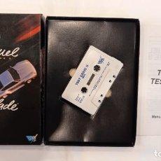 Videojuegos y Consolas: THE DUEL. TEST DRIVE II.. ANTIGUO JUEGO CASSETTE MSX. Lote 294943078