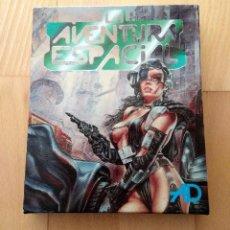 Videojuegos y Consolas: JUEGO MSX DISCO LA AVENTURA ESPACIAL DINAMIC AVENTURAS AD 1990 FUNCIONANDO PERFECTO. Lote 295413373