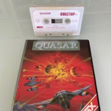 Videojuegos y Consolas: MSX - QUASAR (ESTUCHE XL) - RUNSTOP / RS-114 / DISCOVERY INFORMATIC / NUEVO SIN ESTRENAR. Lote 295413483
