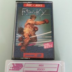 Videojuegos y Consolas: MSX - ROCKY (DINAMIC) / CARGA VERIFICADA. Lote 295415503