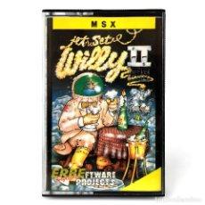 Videojuegos y Consolas: JET SET WILLY II THE FINAL FRONTIER ERBE ESPAÑA SOFTWARE PROJECTS 1985 PLATAFORMAS MSX2 CASSETTE MSX. Lote 231586825