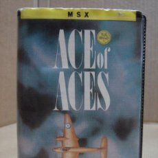 Videojuegos y Consolas: VIDEO JUEGO MSX ACE OF ACES 1987. Lote 24469854