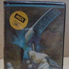 Videojuegos y Consolas: VIDEO JUEGO CASETTE MSX PASTFINDER . Lote 24469892