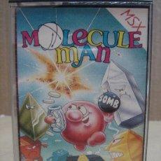Videojuegos y Consolas: VIDEO JUEGO CASETTE MSX MOLECULE MAN CON INSTRUCCIONES . Lote 24469913