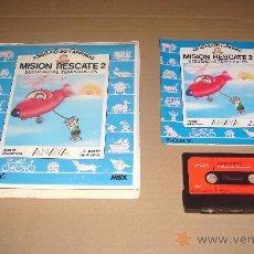 Videojuegos y Consolas: MISION RESCATE 2 PARA MSX. Lote 26971202