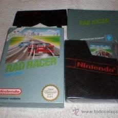 Videojuegos y Consolas: RAD RACER PARA NINTENDO NES NUEVO A ESTRENAR COMPLETO. PAL B. Lote 118856272