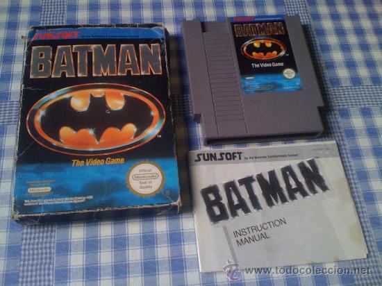 BATMAN JUEGO PARA LA NINTENDO NES PAL COMPLETO (Juguetes - Videojuegos y Consolas - Nintendo - Nes)