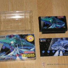 Videojuegos y Consolas: GRADIUS COMPLETO NINTENDO NES FAMICOM NEMESIS VERSION JP. Lote 28654757