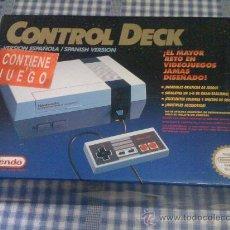 Videojuegos y Consolas: CONSOLA NINTENDO NES PAL COMPLETA CON CAJA CONTROL DECK COMPLETA VERSIÓN ESPAÑOLA NUEVA. Lote 42951156