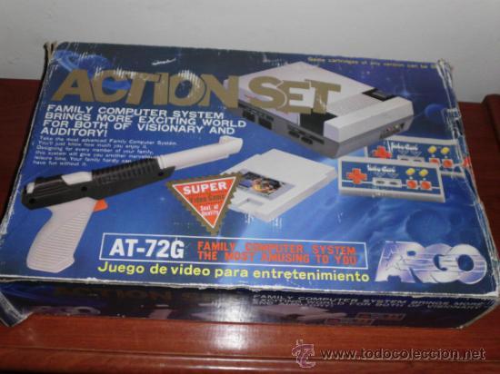 Consola Nintendo Nes Clonica Action Set Complet Comprar
