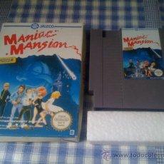 Videojuegos y Consolas: MANIAC MANSION LUCAS ARTS JUEGO PARA NINTENDO NES PAL CON CAJA VERSIÓN ESPAÑOLA. Lote 44660394