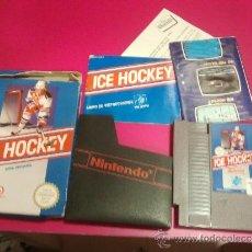 Videojuegos y Consolas: JUEGO NINTENDO NES ICE HOCKEY. Lote 34453931