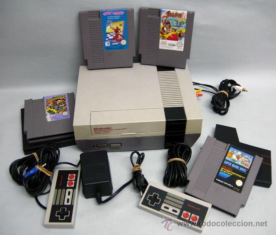 consola de videojuegos nes