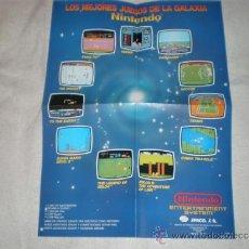 Videojuegos y Consolas: POSTER NINTENDO NES. Lote 102915400