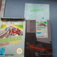 Videojuegos y Consolas: JUEGO PARA LA NINTENDO NES EN CAJA RAD RACER. Lote 37440070
