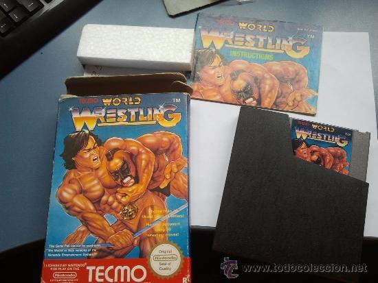 JUEGO NINTENDO NES WORLD WRESTLING NINTENDO NES (Juguetes - Videojuegos y Consolas - Nintendo - Nes)