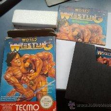 Videojuegos y Consolas: JUEGO NINTENDO NES WORLD WRESTLING NINTENDO NES. Lote 37637417