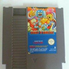 Videojuegos y Consolas: JJ JUEGO NINTENDO NES GHOST´N GOBLINS - SOLO CARTUCHO.. Lote 37878571