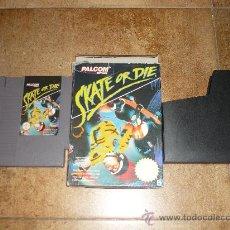 Videojuegos y Consolas: SKATE OR DIE JUEGO NES MONOPATIN. Lote 38177677