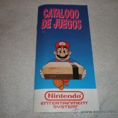 Videojuegos y Consolas: CATALOGO DE JUEGOS DE NINTENDO NES EN ESPAÑOL Y COMO NUEVO. Lote 152227893