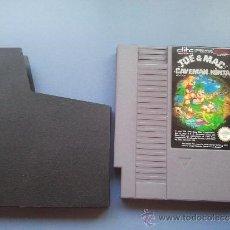 Videojuegos y Consolas: JUEGO NINTENDO NES JOE MAC. Lote 39074177