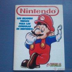 Videojuegos y Consolas: LOS MEJORES TRUCOS PARA LAS CONSOLAS NINTENDO. Lote 39713740