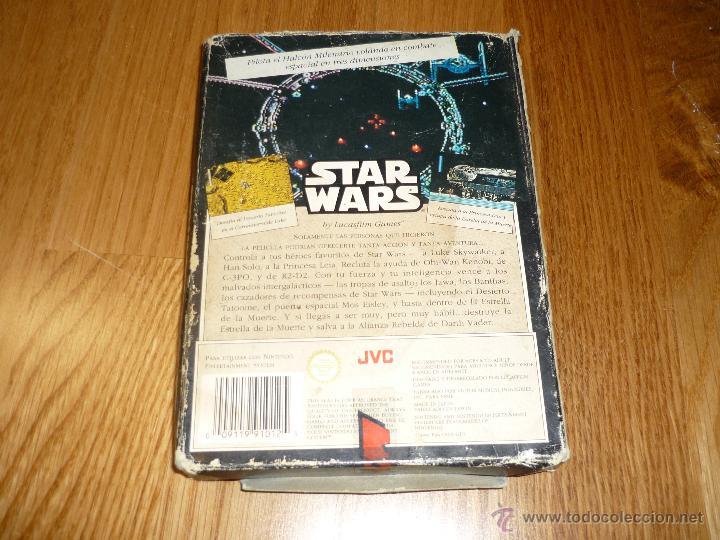 Videojuegos y Consolas: JUEGO Video juego Star Wars Nintendo NES LA GUERRA DE LAS GALAXIAS - Foto 2 - 39941974