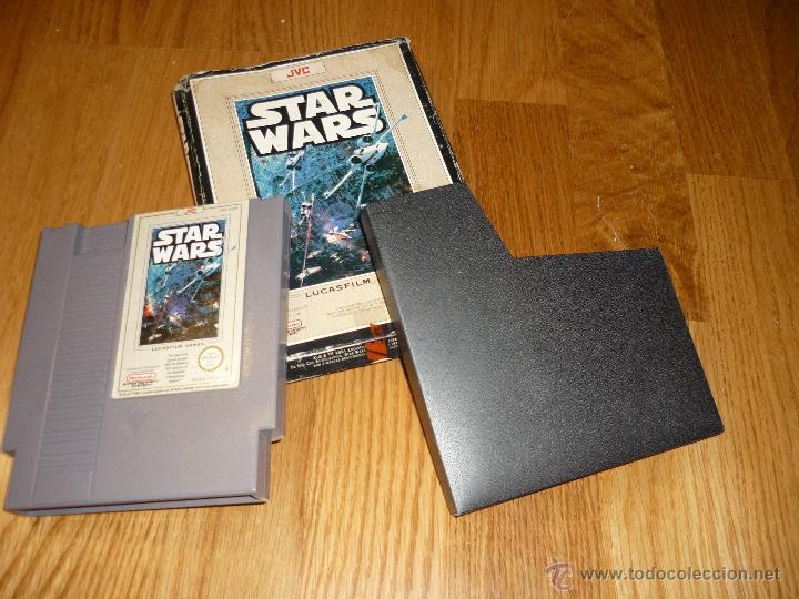 Videojuegos y Consolas: JUEGO Video juego Star Wars Nintendo NES LA GUERRA DE LAS GALAXIAS - Foto 3 - 39941974