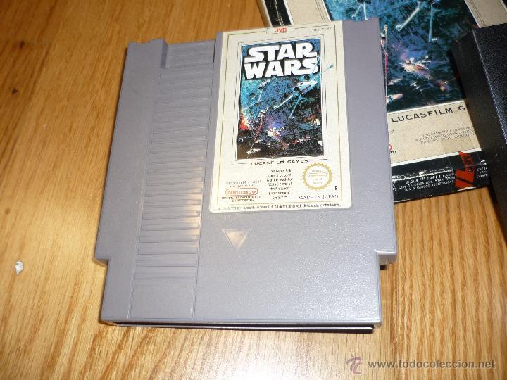 Videojuegos y Consolas: JUEGO Video juego Star Wars Nintendo NES LA GUERRA DE LAS GALAXIAS - Foto 4 - 39941974
