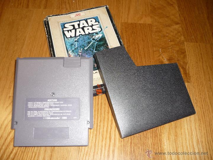 Videojuegos y Consolas: JUEGO Video juego Star Wars Nintendo NES LA GUERRA DE LAS GALAXIAS - Foto 5 - 39941974