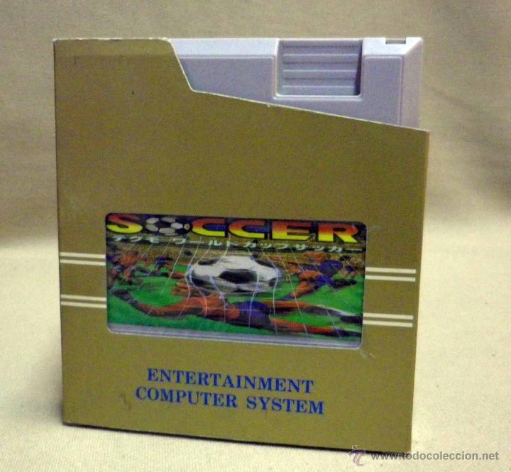 Videojuegos y Consolas: VIDEO JUEGO, PARA CONSOLA NINTENDO NES, WORD CUP SOCCER, FUTBOL, ENTERTAINMENT COMPUTER SYSTEM - Foto 2 - 39947070
