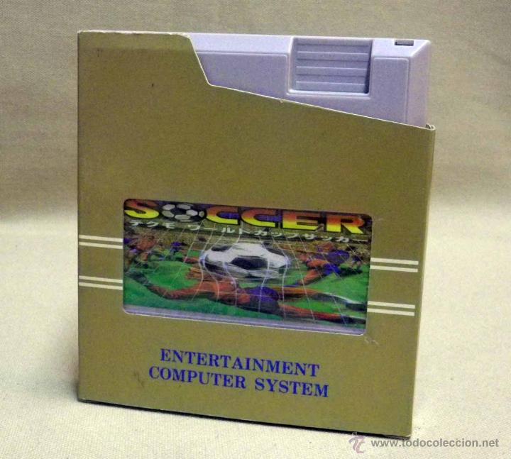 Videojuegos y Consolas: VIDEO JUEGO, PARA CONSOLA NINTENDO NES, WORD CUP SOCCER, FUTBOL, ENTERTAINMENT COMPUTER SYSTEM - Foto 4 - 39947070
