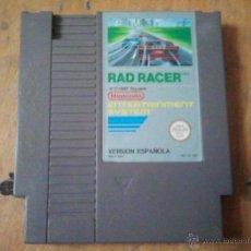 Videojuegos y Consolas: JUEGO PARA LA NINTENDO NES RAD RACER. Lote 40693057