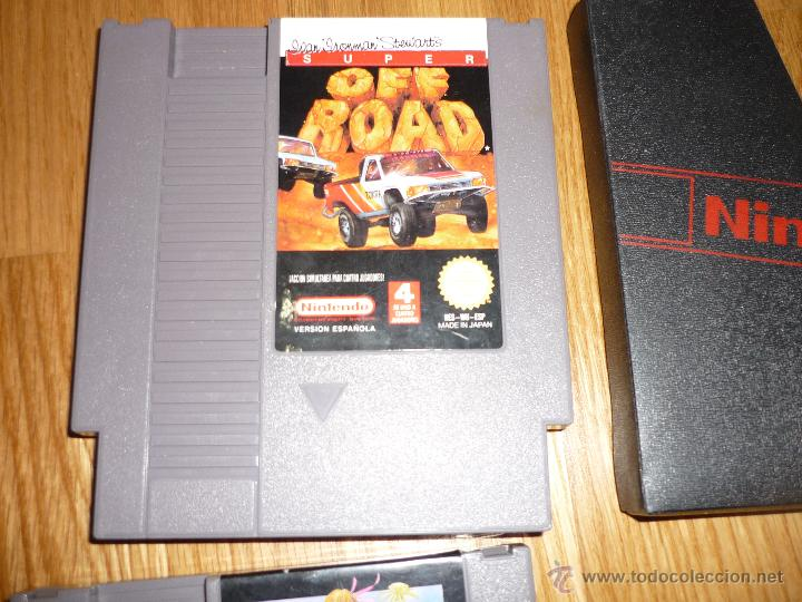 Videojuegos y Consolas: LOTE NES Super Off Road Y INSOLATED WARRIOR para Nintendo NES PAL CARTUCHO - OffRoad - Foto 2 - 41561905