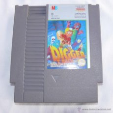 Videojuegos y Consolas: JUEGO NINTENGO ANTIGUO NES DIGGER T ROCK . Lote 41660771