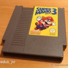 Videojuegos y Consolas: SUPER MARIO BROS 3 JUEGO PARA NINTENDO NES PAL EN MUY BUEN ESTADO. Lote 42513430