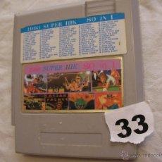Videojuegos y Consolas: ANTIGUO CARTUCHO DE JUEGOS AÑOS 90 - SUPER HIK - 80 EN 1. Lote 43040231