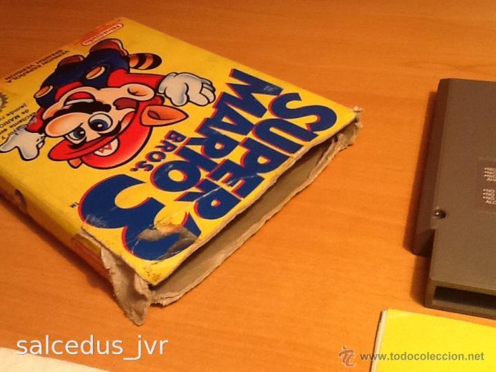 Videojuegos y Consolas: Super Mario Bros 3 III juego para Nintendo NES PAL Completo Versión Española - Foto 4 - 43062320