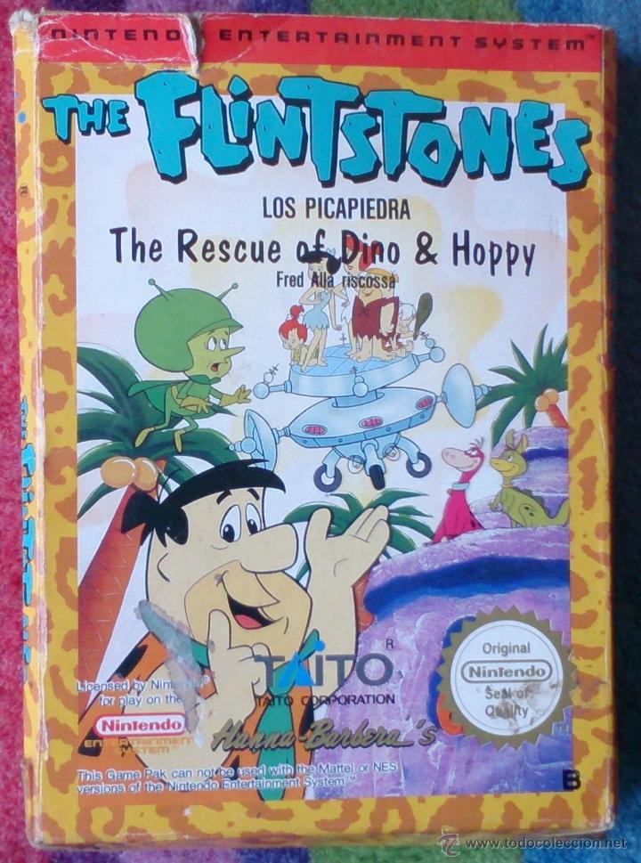 NINTENDO NES JUEGO THE FLINTSTONES (Juguetes - Videojuegos y Consolas - Nintendo - Nes)
