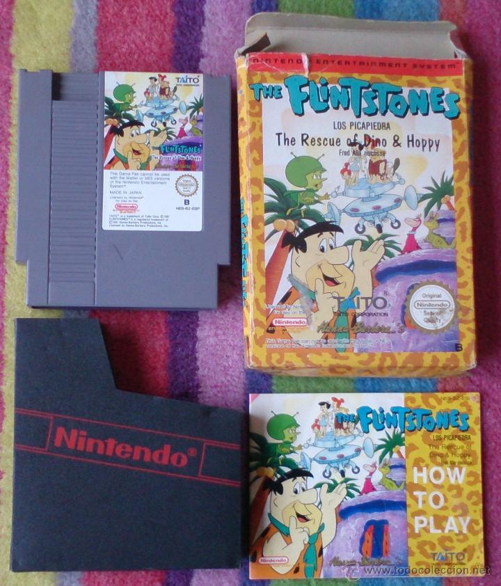 Videojuegos y Consolas: NINTENDO NES Juego THE FLINTSTONES - Foto 3 - 43165245