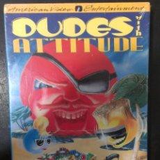Videojuegos y Consolas: JUEGO NES NINTENDO DUDES WITH ATTITUDE PRECINTADO / AVE AMERICAN VIDEO ENTERTAINMENT . Lote 102687815