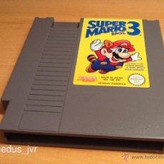 Videojuegos y Consolas: SUPER MARIO BROS 3 JUEGO PARA NINTENDO NES PAL ESP VERSIÓN ESPAÑOLA EN BUEN ESTADO. Lote 44701853