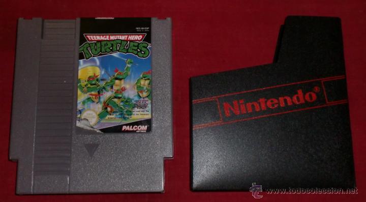 CARTUCHO DE NINTENDO NES TORTUGAS NINJA (Juguetes - Videojuegos y Consolas - Nintendo - Nes)